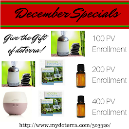 Our December Specials!