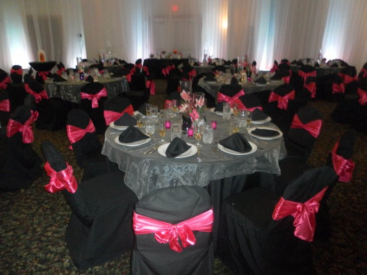 Pink Black And Silver Weddings Wedding Ideas