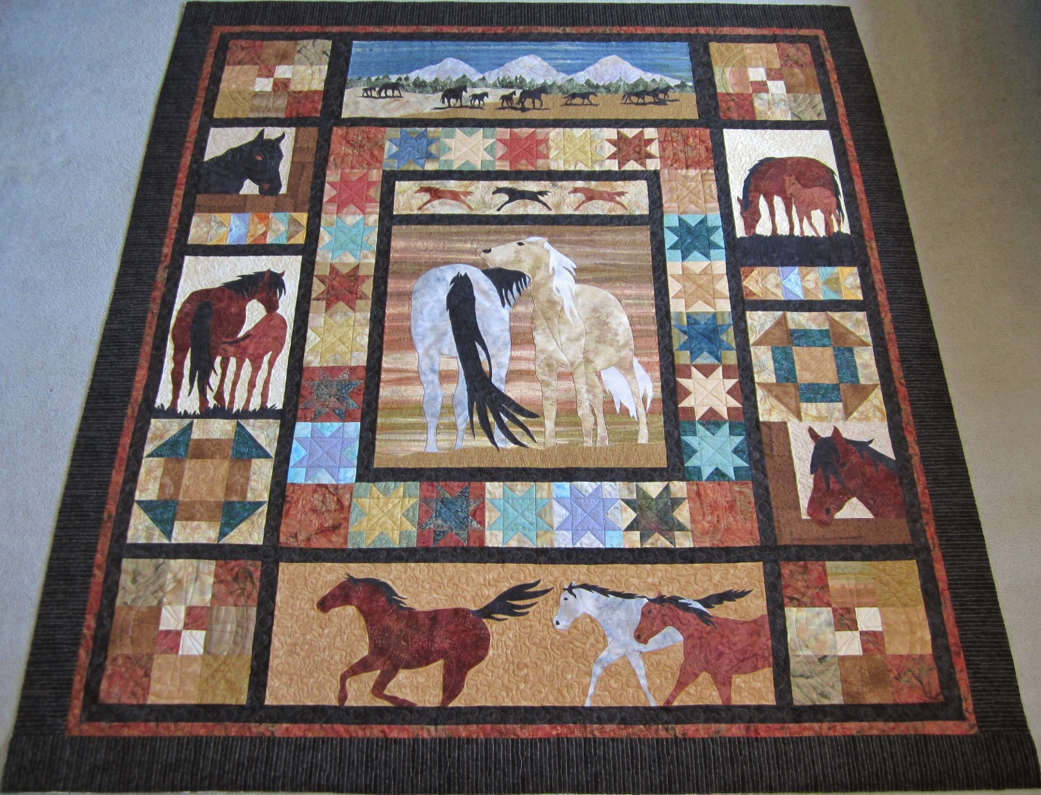 ideas quilting more find quilt cowgirlquilts project pin out horse by about