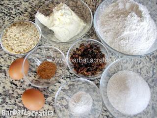 Fursecuri cu unt si scortisoara (ingredientele necesare pentru a prepara reteta)