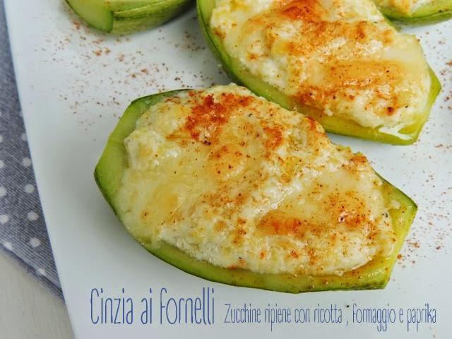 zucchine con ricotta e formaggio