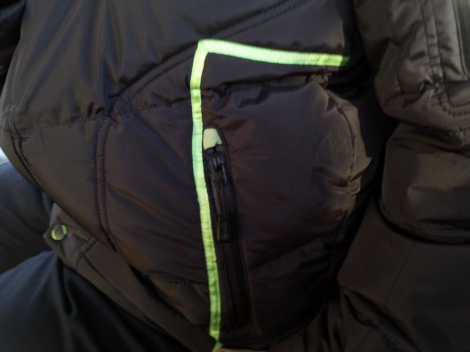 как зашить, отремонтировать куртку
