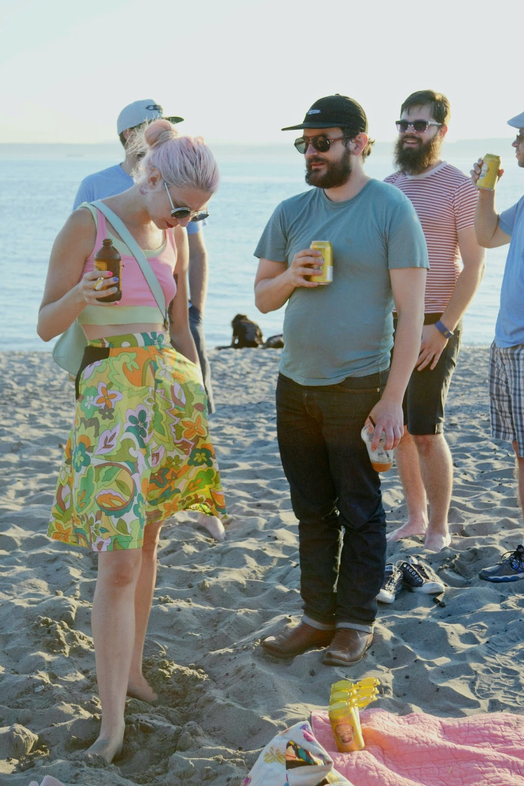 hipsters, vintage, fashion, summer, golden gardens,