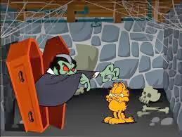 Garfield Scary Scavenger Hunt  Juegos de Escape Escapa de la