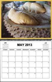 Durian Festival Calendar