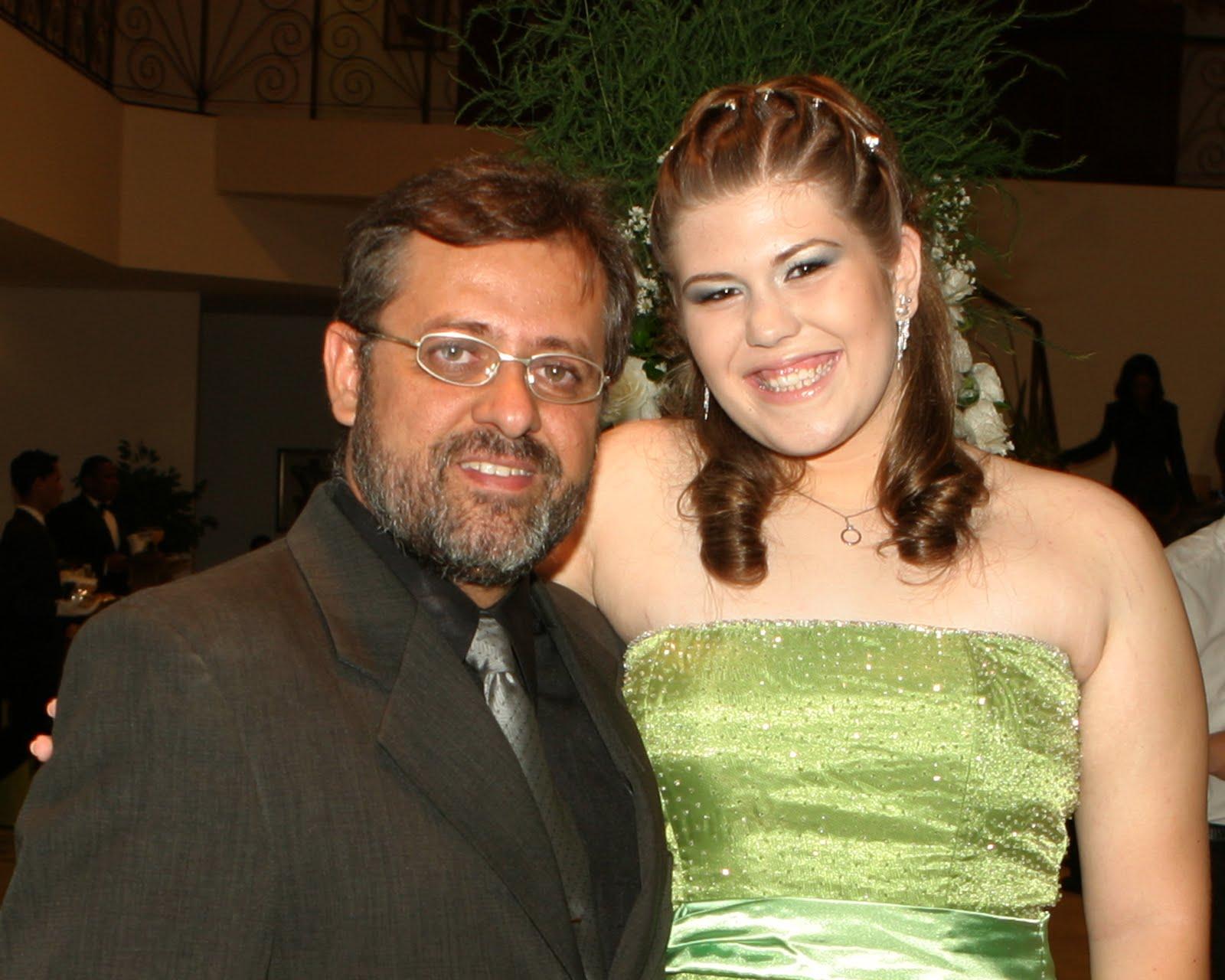 Suzana com Paulo Hahon