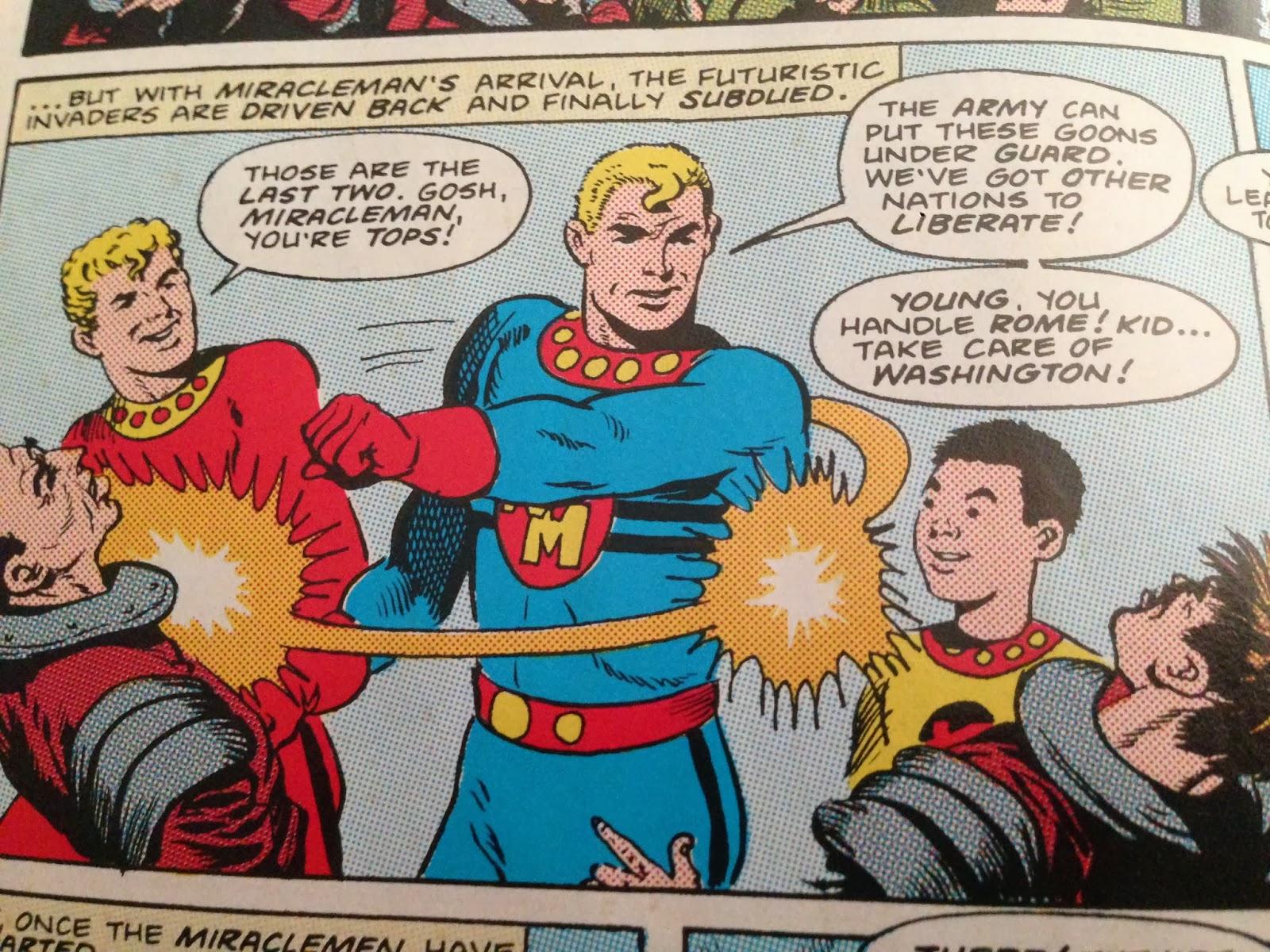 formerly known as Marvelman figure MU40 Marvel Super Heroes Miracleman