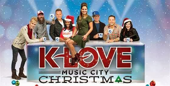 tonight on the television network up you can see a 1 hour special of the k love christmas concert from nashville tennessee hosted by actress candace