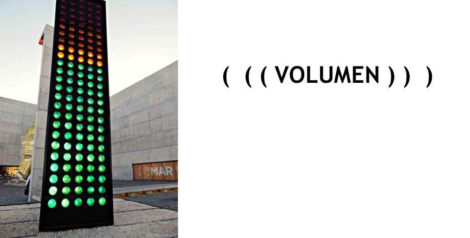 (     (   (     VOLUMEN     )   )     )