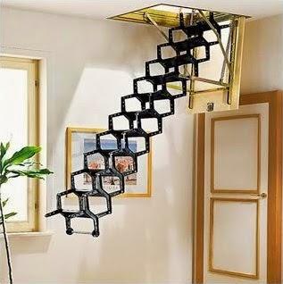 Desain Gambar tangga rumah modern