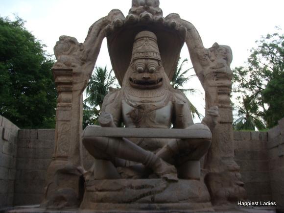 Lakshmi Narasimha Temple Hampi
