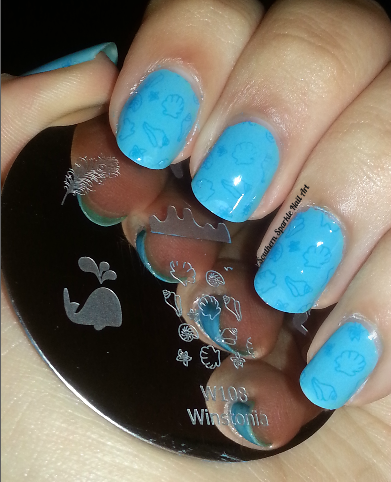 Sally Hansen Blue Me Away Wet n Wild I Need a Refresh-Mint