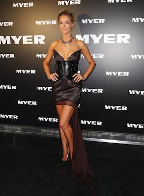 Jennifer Hawkins Fishtail Dress