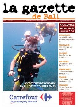 la Gazette de Bali avril 2011