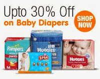 Diapers upto 30% off – Amazon