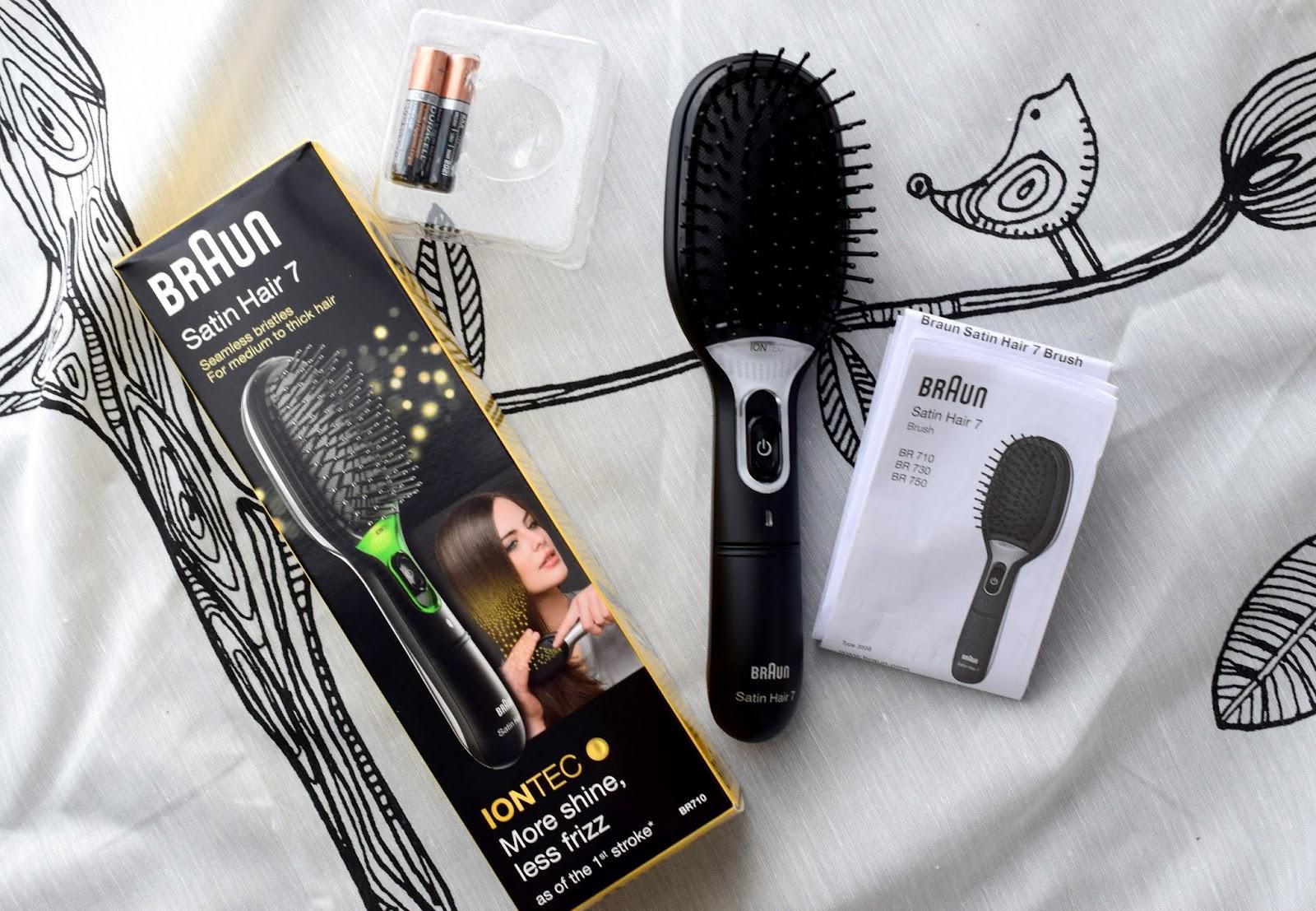 Braun Satin Hair 7 Haarbürste IONTEC Technologie Zubehör