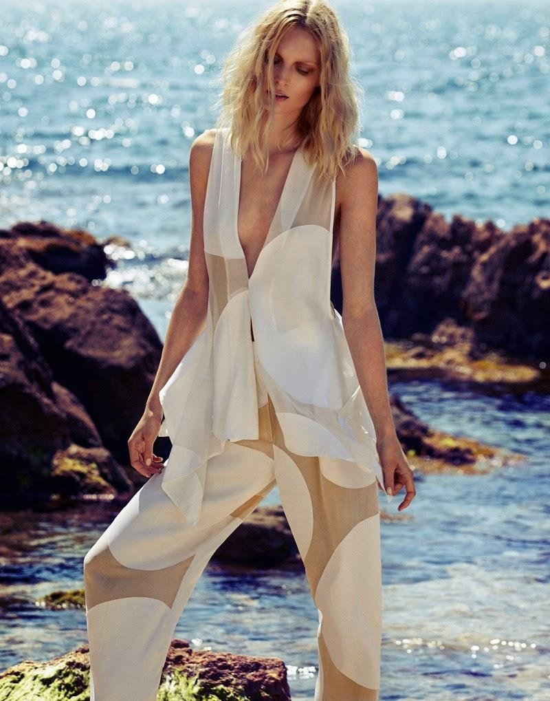 Melissa Tammerijn for Elle Russia June 2014 Xavi Gordo