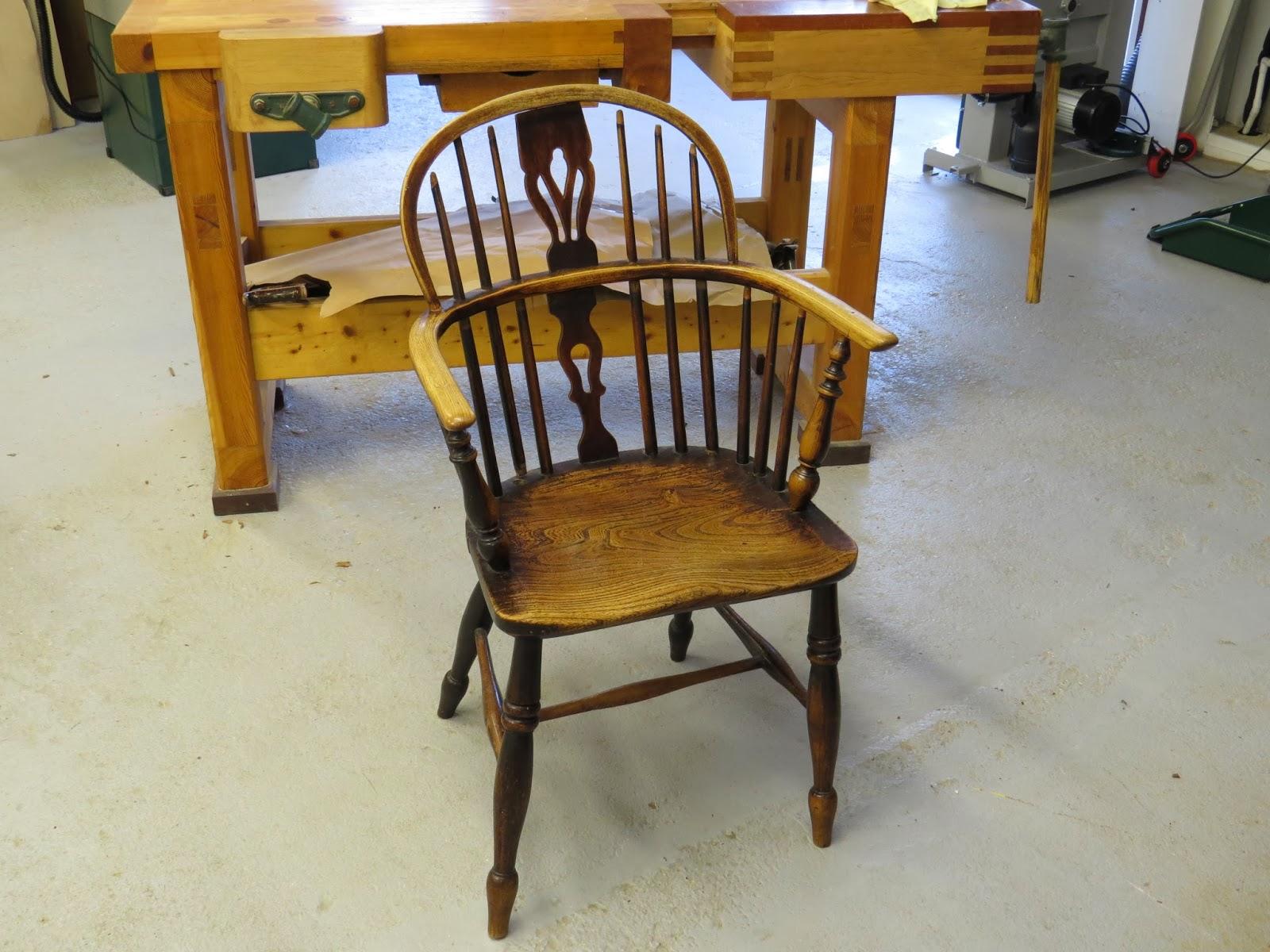 Windsor chair restoration