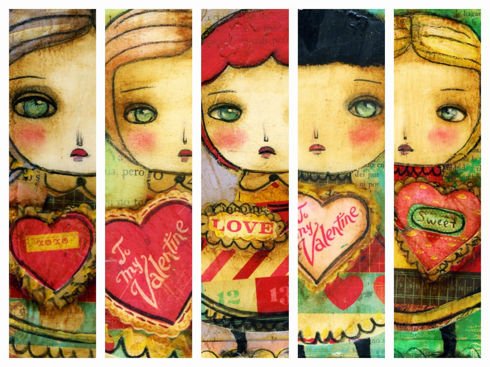 New Valentine's Day prints by Danita Art