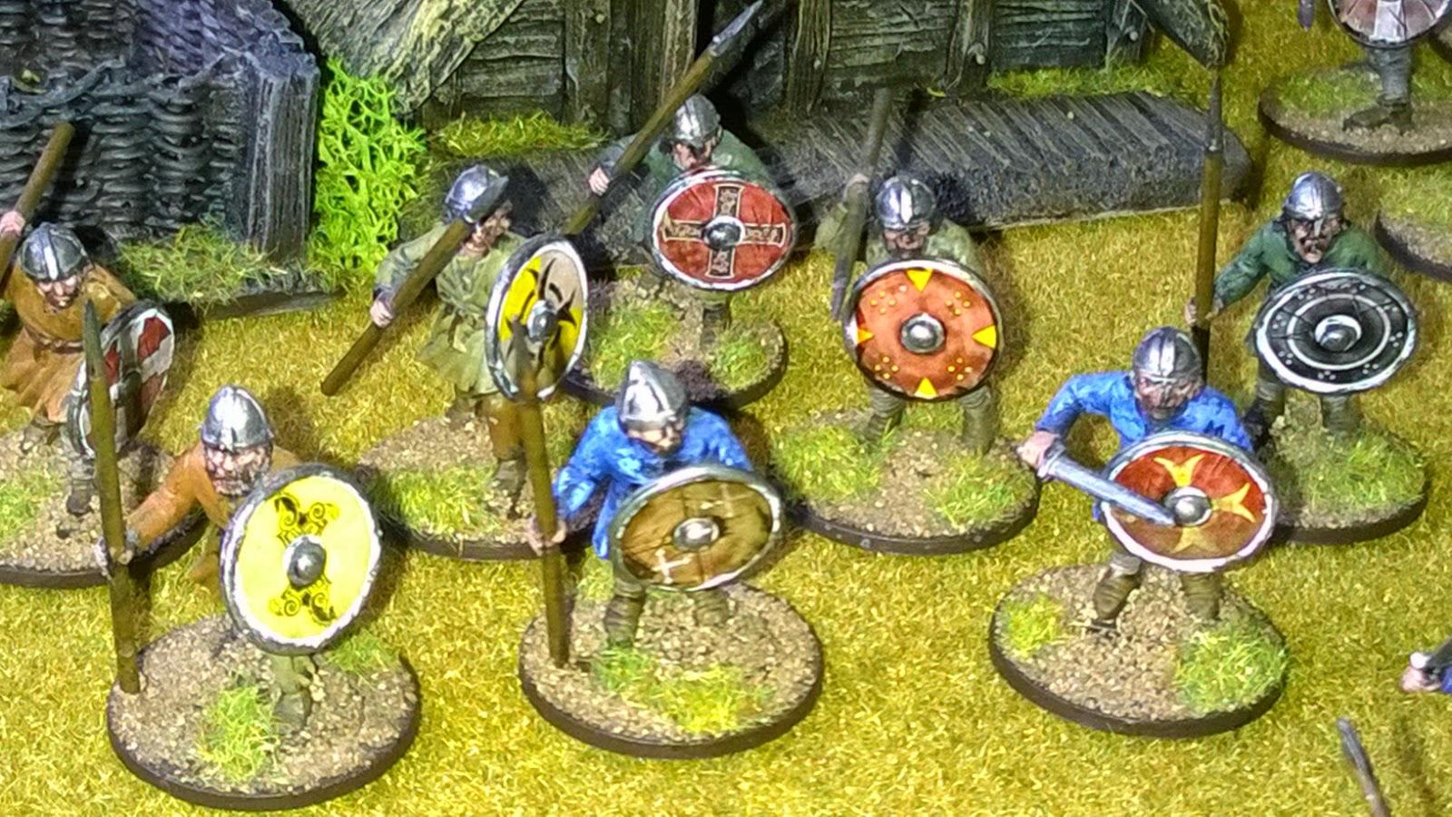Anglo-saxon saga warband