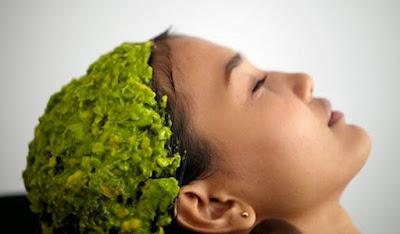 Cara membuat masker rambut alami dari alpukat