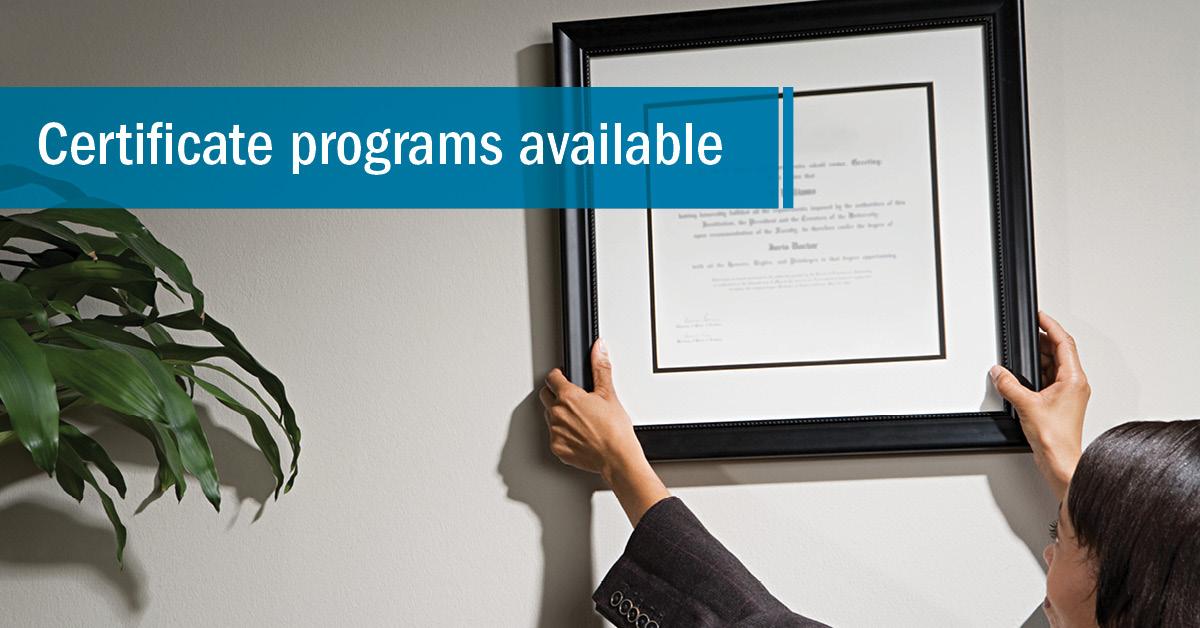 UW-Stout Online Certificates