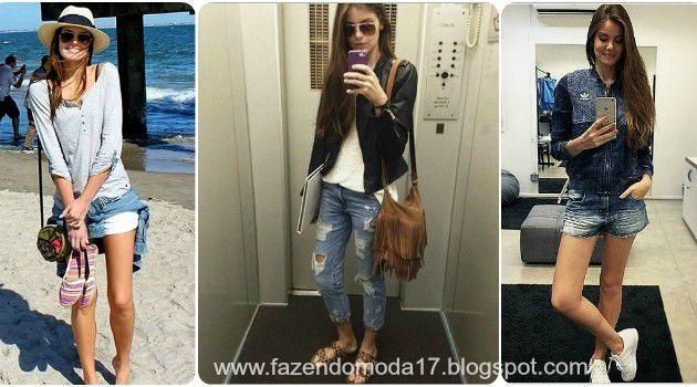 ♥ Inspire- se nos looks da  Camila Queiroz ♥