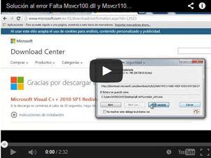 download msvcr110.dll o msvcp110 DLL