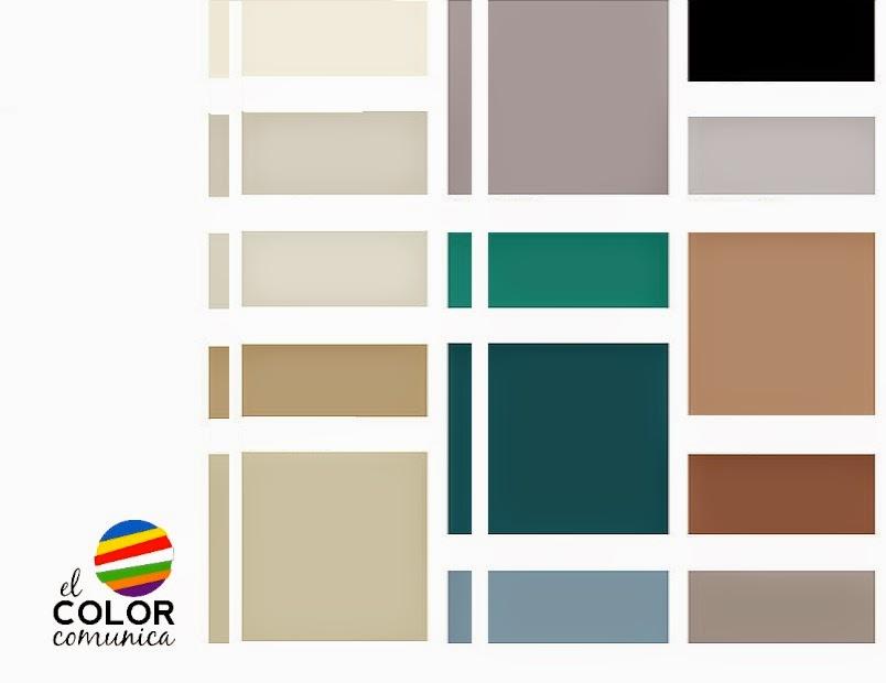 El color comunica tendencia en colores en interiorismo tiel - Paleta de colores neutros ...