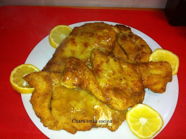 Charo en la cocina pollo al limon china - Salsa de pollo al limon ...