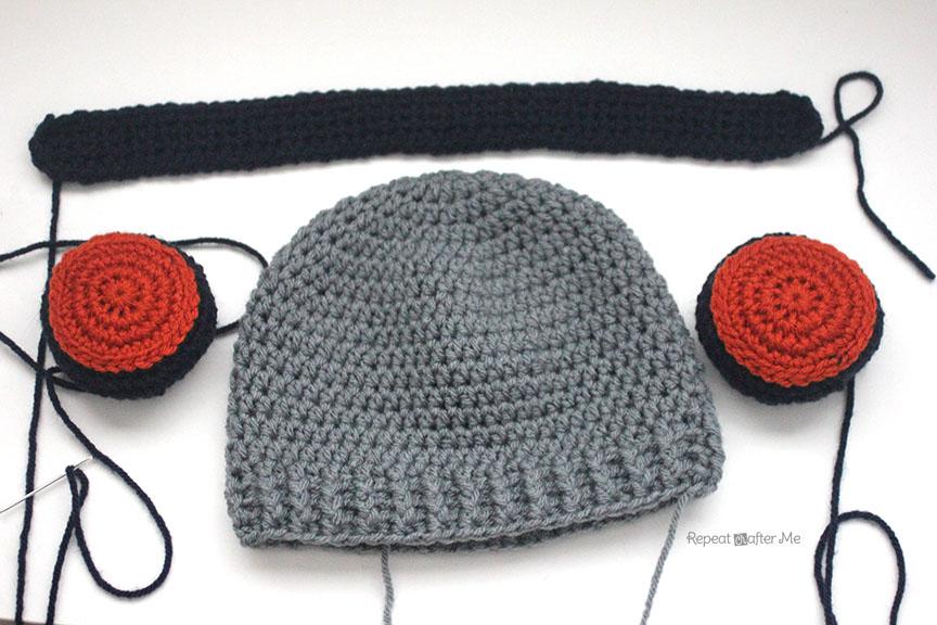 Crochet Headphones Hat Repeat Crafter Me