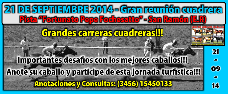 SAN RAMON - REUNION 21.09.2014