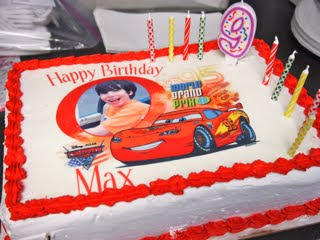 Love That Max  That Awful Horrible Happy Birthday Song And An - Cake happy birthday song