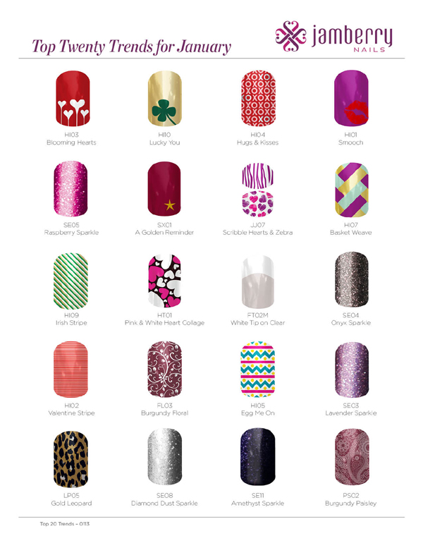 Replay Top 20 Nailart Trends For January 2013