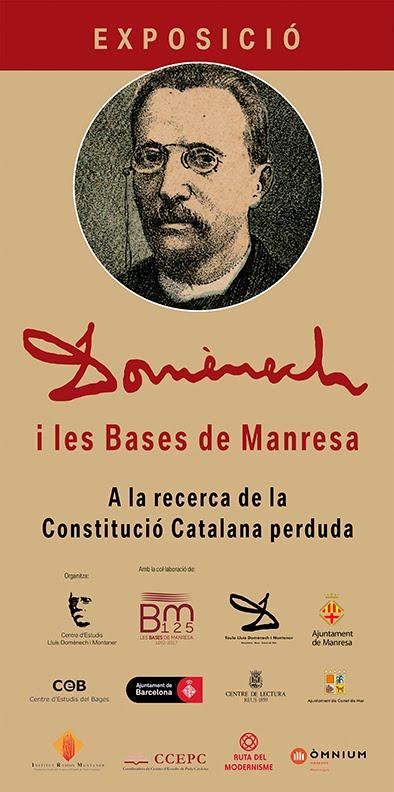 """Exposició """"Domènech i les Bases de Manresa"""""""
