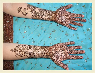 design of bridal mehndi