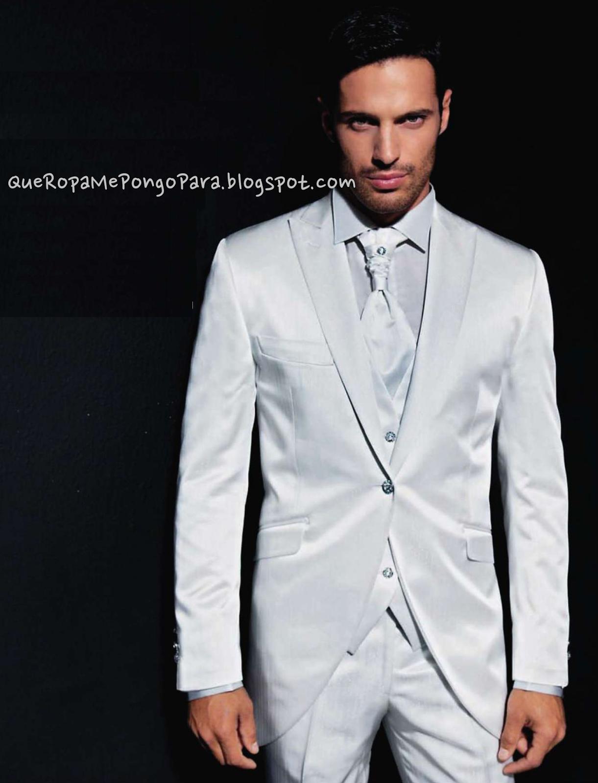 modelos de traje de hombre - TRAJES DE BODA PARA NOVIOS - Que ropa me pongo para mi boda