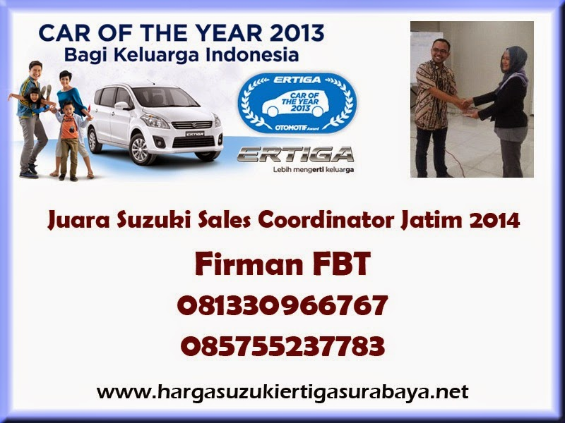 Harga OTR Suzuki Ertiga UMC Dan SBT Surabaya Sidoarjo Bangkalan Pamekasan Hub Firman FBT 085755237783