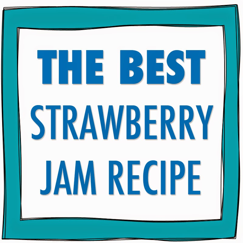 This is the best homemade strawberry jam recipe you'll find
