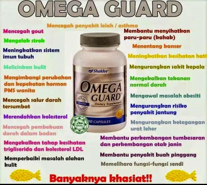 Manfaat Omega 3 Dalam Omega Guard Shaklee