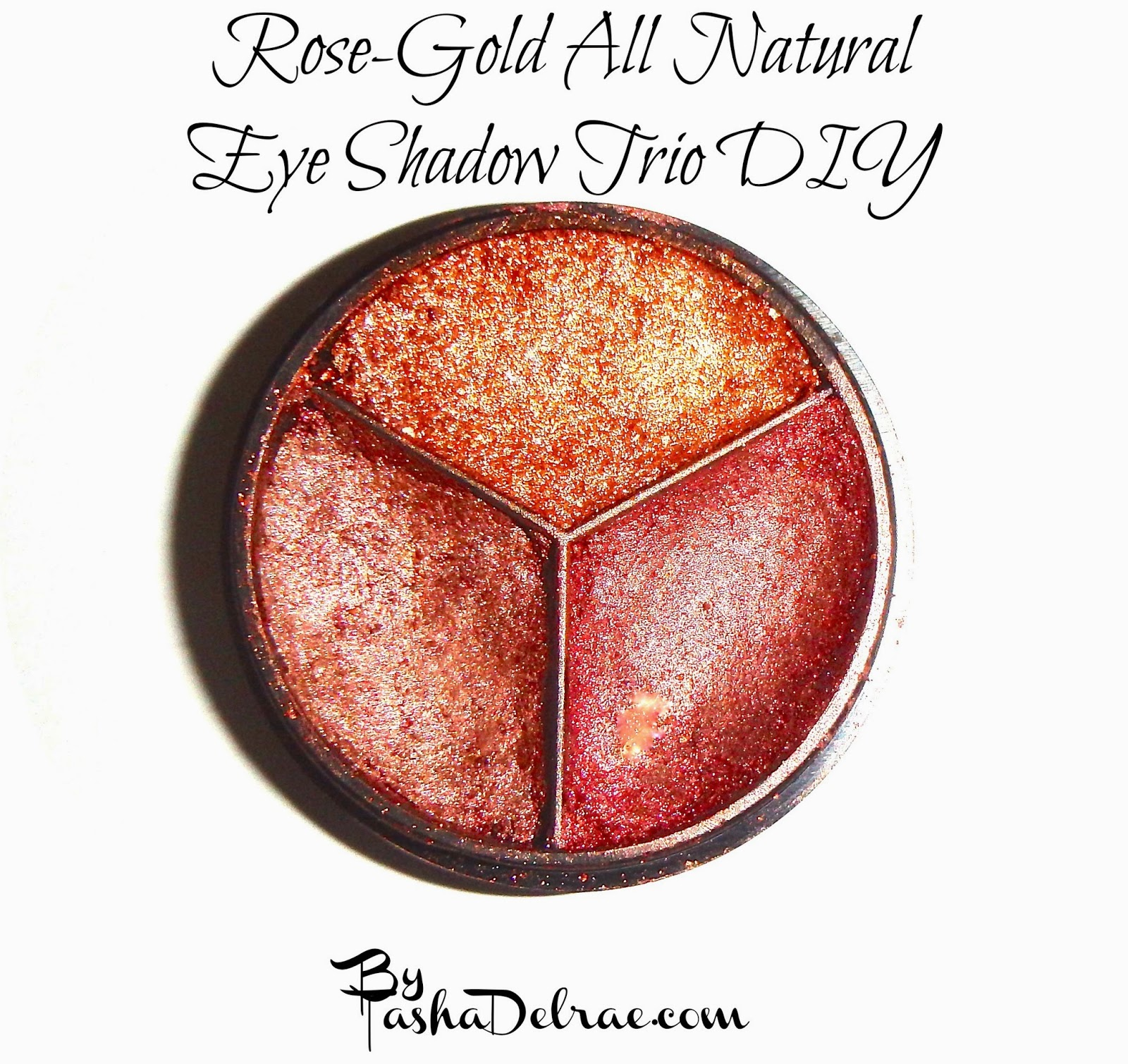 How to Make pressed Mineral Eyeshadow