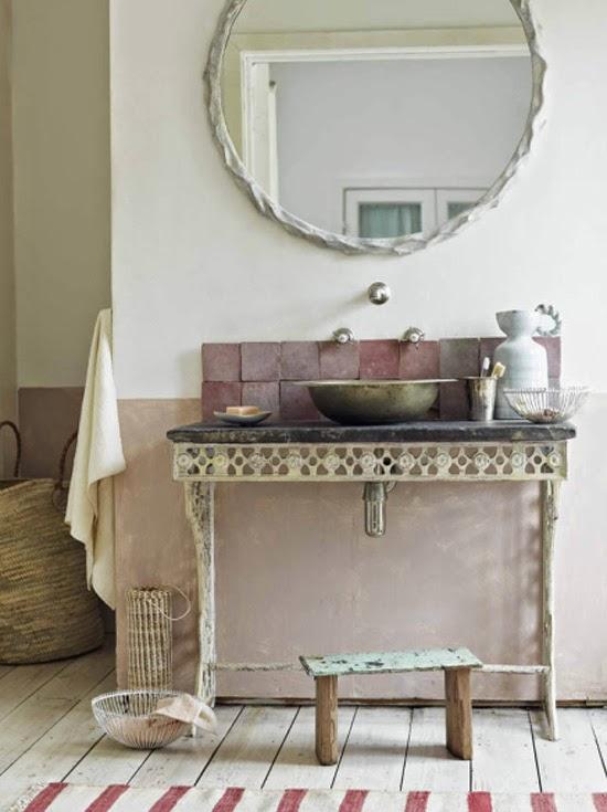 Ma Maison Au Naturel Le Charme Des Salle De Bain Anciennes - Salle de bain charme