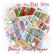Bearly Mine Digi Papers