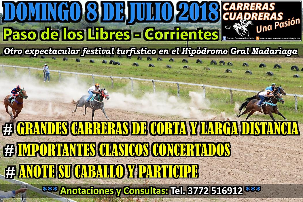 P. DE LOS LIBRES - 08.07.2018