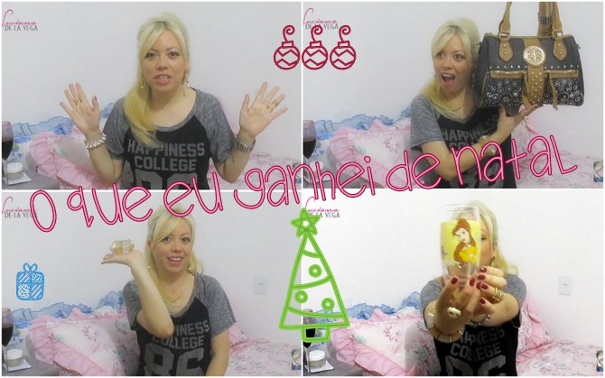 O que eu Ganhei de Natal | What I got for Christmas 2015