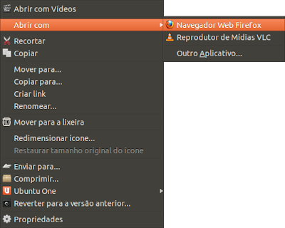 Abra o arquivo baixado com o navegador de sua preferência