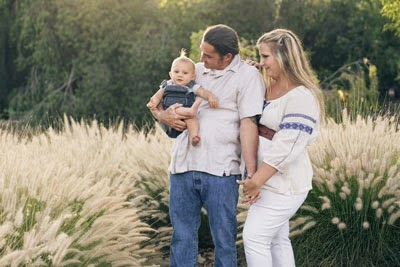 Mom, Dad, and Reef Indy were the subjects of a photo shoot on June 2, 2014 by Memento Vita Photography.