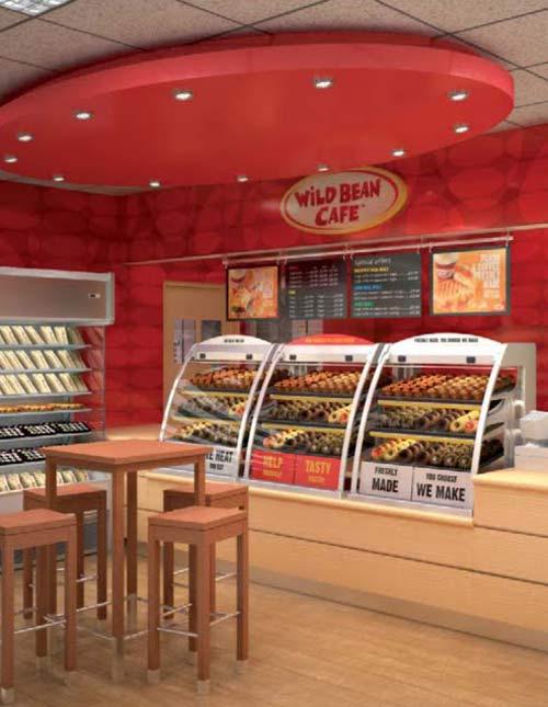 Roadside Stand Designs : Roadside retail wild bean café