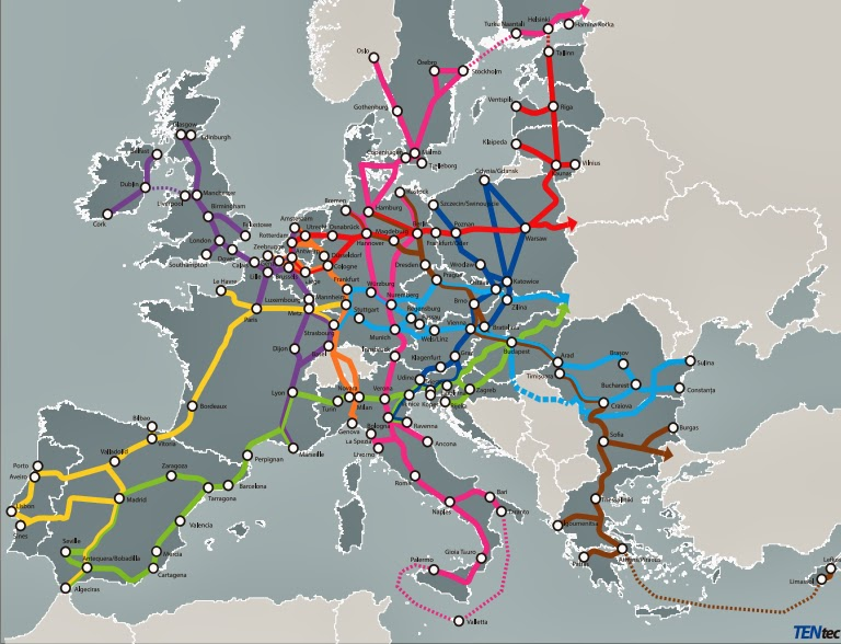 TEN- Core Network Corridors. European Commission
