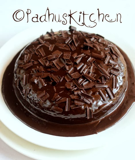 Eggless Whole Wheat Chocolate Cake